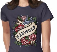 BadWolf Tattoo Womens Fitted T-Shirt