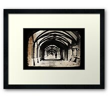 Berlin Arches Framed Print