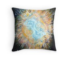 Entwined Celtic Galaxy ~ Card Throw Pillow
