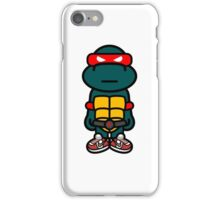 Red Renaissance Turtle iPhone Case/Skin