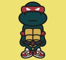 Red Renaissance Turtle Kids Clothes