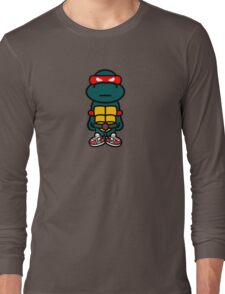 Red Renaissance Turtle Long Sleeve T-Shirt