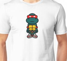 Red Renaissance Turtle Unisex T-Shirt