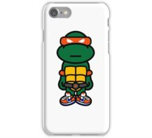 Orange Renaissance Turtle iPhone Case/Skin