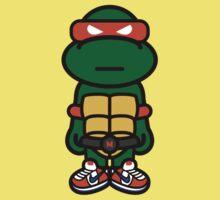 Orange Renaissance Turtle Kids Clothes