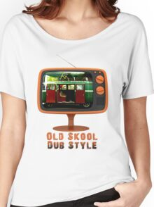 Old Skool Dub Style T-Shirt Women's Relaxed Fit T-Shirt