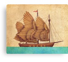 Winged Odyssey  Canvas Print