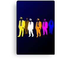 Reservoir Colors with Mr. Blue Canvas Print