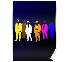 Reservoir Colors with Mr. Blue Poster