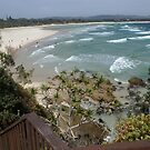 Byron Bay from the viewing platform southern end ii by BronReid