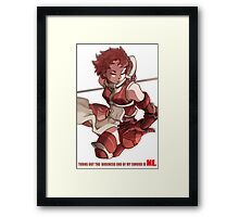 FE Awakening Sully Framed Print