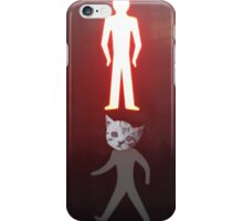 Cat Crossing iPhone Case/Skin