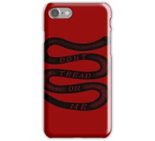 Vintage Dont Tread On Me iPhone Case/Skin
