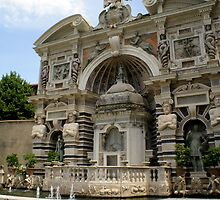 fountain of the organ, villa d'Este, Tivoli, Italy by BronReid