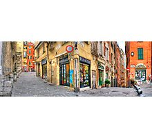 Genoa Alley Photographic Print