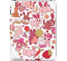 Adorable Bunnies iPad Case/Skin