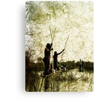 Rustic Lineage Canvas Print