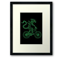 Alien Ride Framed Print
