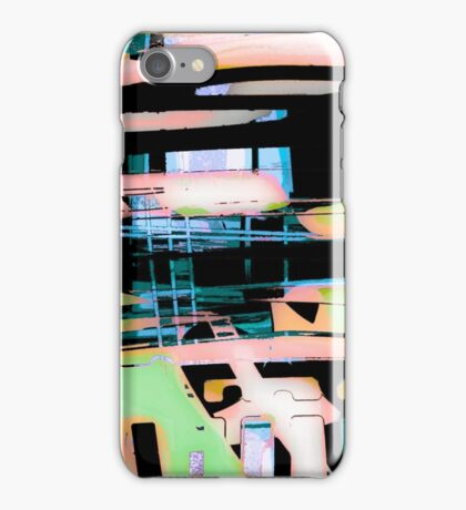 colorul abstract, custom designs iPhone Case/Skin