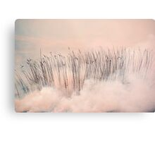SMOKE GETS IN YOUR EYES Metal Print