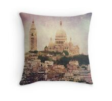 Majestic Haze Throw Pillow