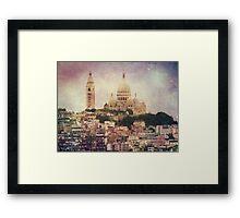Majestic Haze Framed Print