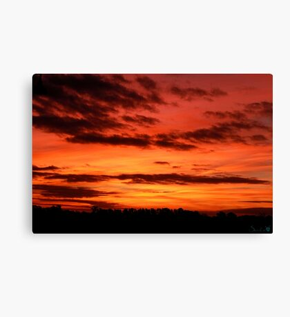Peaceful Anger Canvas Print