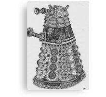 Dalek Pattern Canvas Print