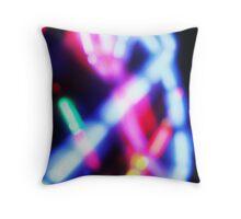 glow sprinkles Throw Pillow