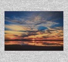 Sunset Spreads over Plum Island Baby Tee