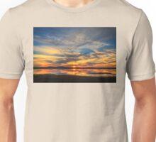 Sunset Spreads over Plum Island Unisex T-Shirt