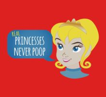 Real princesses never poop One Piece - Short Sleeve