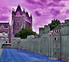Purple Bridge and Tower by Karen Martin IPA