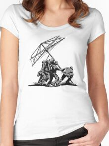 Raising the Line Women's Fitted Scoop T-Shirt