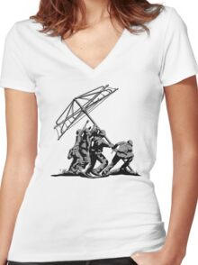 Raising the Line Women's Fitted V-Neck T-Shirt