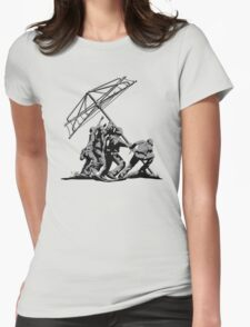 Raising the Line Womens Fitted T-Shirt