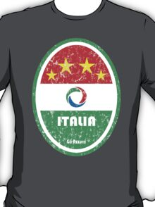 World Cup Football 2/8 - Italia (Distressed) T-Shirt
