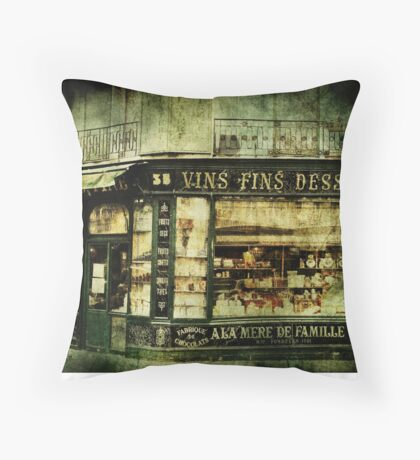 Indulgence Throw Pillow
