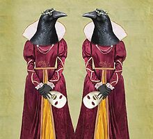Regal Ravens by Tanya  Mayers