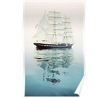 The Belem at sea Poster