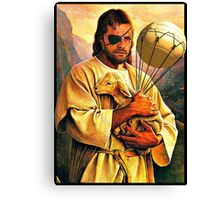 Big Boss and the Lamb Canvas Print