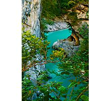 Turquoise Flow Photographic Print