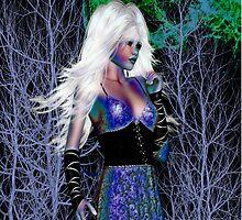 NIght Shade .. dark witch by LoneAngel