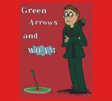 Green Arrows and Wham! Kids Tee