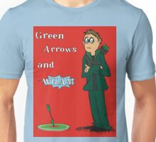 Green Arrows and Wham! Unisex T-Shirt