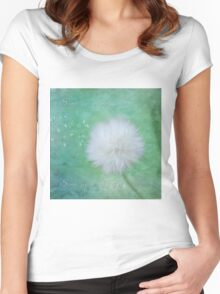 Inspirational Art - Some See A Wish Women's Fitted Scoop T-Shirt