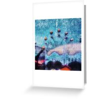 Fairground Innocence Greeting Card
