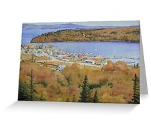 Rossport in the Seventies Greeting Card