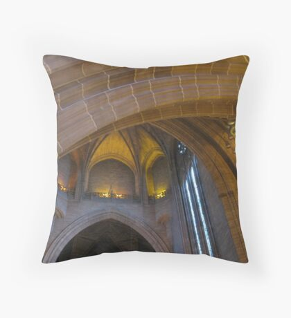 LIVERPOOL CATHEDRAL Throw Pillow