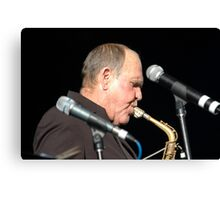 Bernie McGann @ Jazz & Blues Festival 2009 Canvas Print